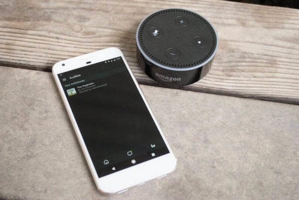 Cómo conectar Audible con Alexa
