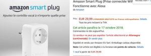 Enchufe inteligente AmazonBasics