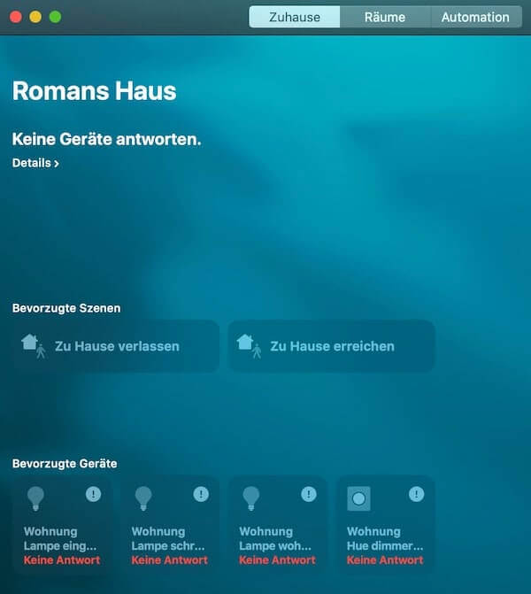 aplicación homekit
