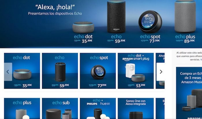 amazon alexa disponible espana