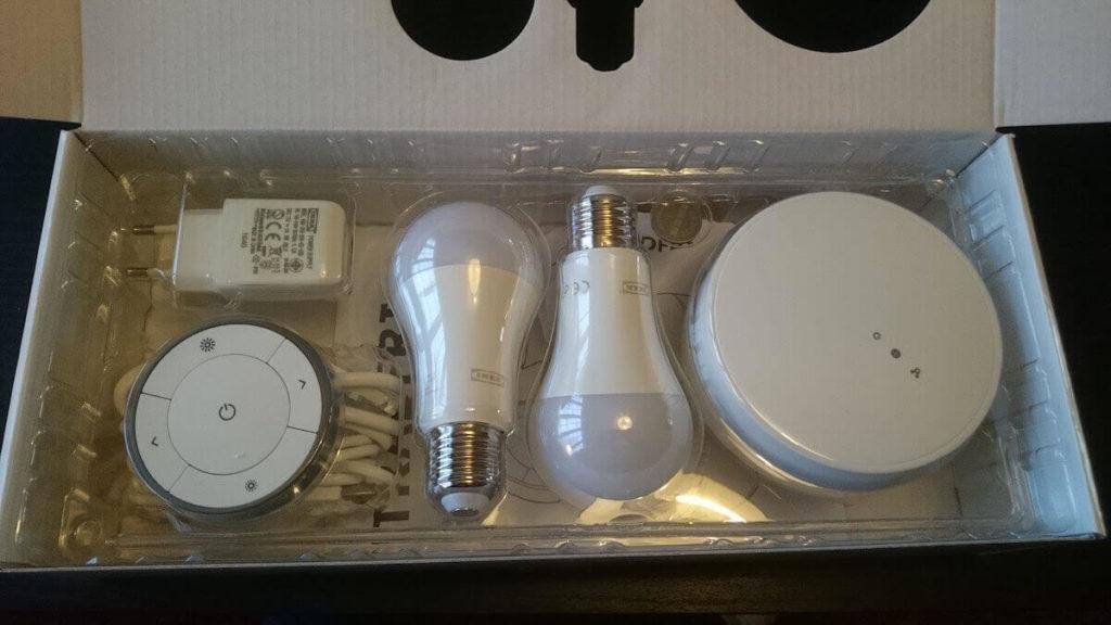 IKEA Tradfri Lampara casa intelligente