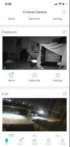 alexa espanol yi-ip camera app