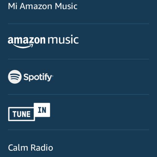 Reproducir Apple music con Alexa