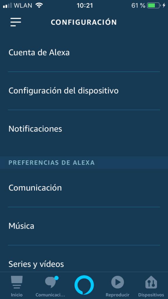 Cómo configurar la velocidad de Alexa?